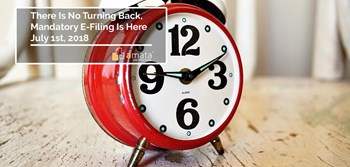 There is No Turning Back, Mandatory E-Filing is Here July 1st, 2018