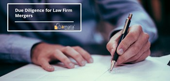 Due Diligence for Law Firm Mergers