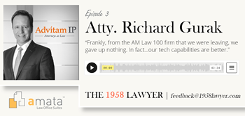 Richard Gurak: Building a Powerful Law Firm (Paper-Free) and Out-of-the-Box Thinking | THE 1958 LAWYER Podcast