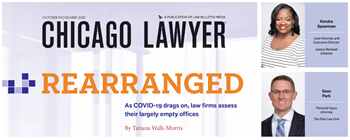 Rearranged: As COVID-19 Drags On, Law Firms Assess Their Largely Empty Offices